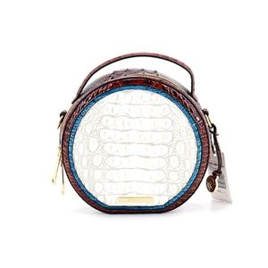 Brahmin Bags - 👜 BRAHMIN Pearl Presley Embossed Crossbody Bag